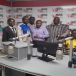 Media Pastor Visits Ho FM