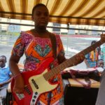14-Year-Girl Plays Bass Guitar At 2018 Easter Convention
