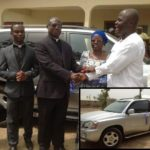 Hon. Ahmed Ibrahim Donates Vehicle To Banda District