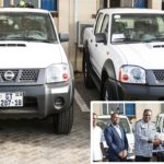 Accra New Town District Donates 2 Vehicles, 12 Tricycles To Missions