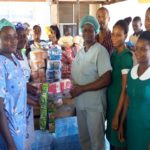 Asesewa District Women's Ministry Donates To Hospital