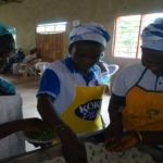 Fotobi District Women's Ministry Organizes Food Fair