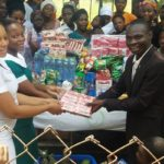 Children Of Tema Community One District Donate To Tema General Hospital