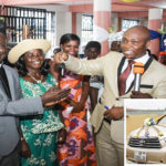 Pastor & Mrs Duodu Receive Surprise Retirement Gift