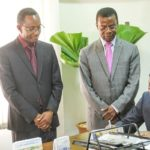 Chairman Nyamekye Marks First Day At Work