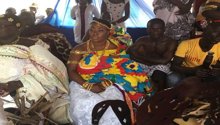 COP Member Enstooled Queenmother Of Akim Nkwarteng